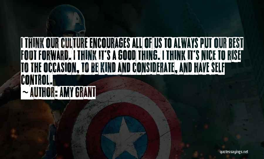 Things That Are Out Of Your Control Quotes By Amy Grant