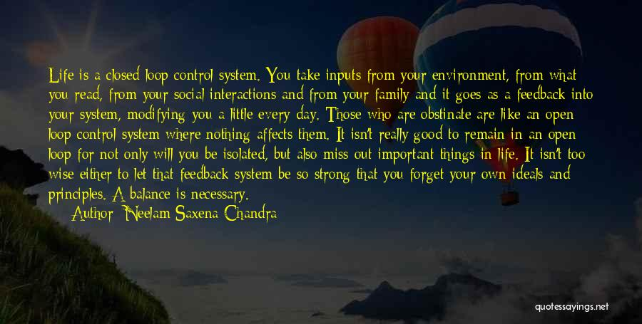 Things That Are Out Of Your Control Quotes By Neelam Saxena Chandra