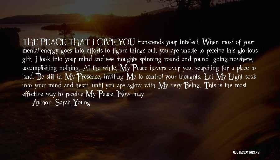 Things That Are Out Of Your Control Quotes By Sarah Young