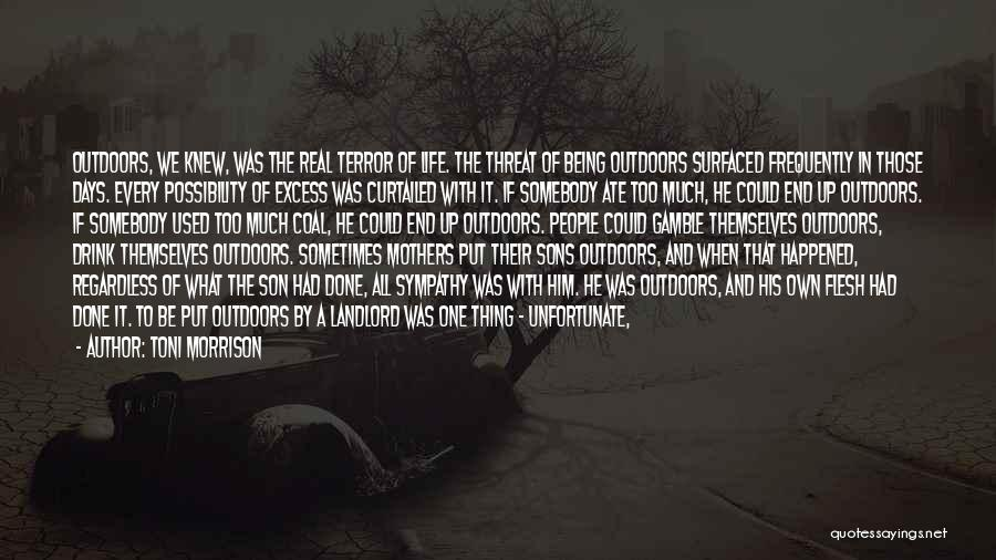 Things That Are Out Of Your Control Quotes By Toni Morrison