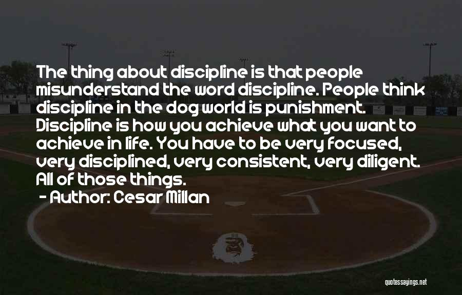 Things To Think About In Life Quotes By Cesar Millan