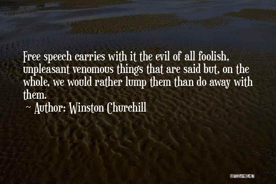 Things We All Do Quotes By Winston Churchill