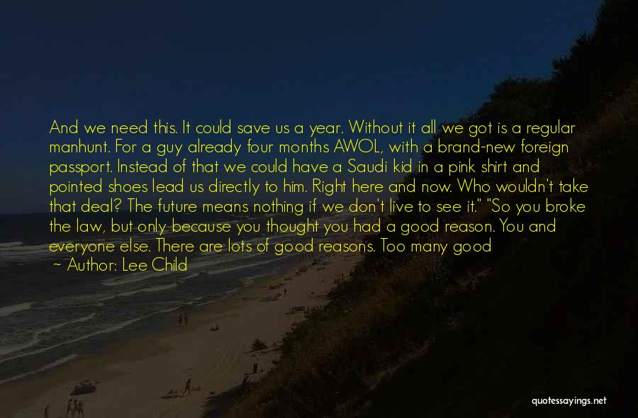 Things Will Get Hard Quotes By Lee Child