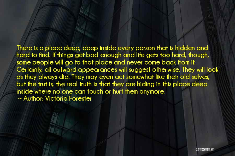 Things Will Get Hard Quotes By Victoria Forester