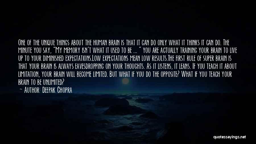 Things You Used To Do Quotes By Deepak Chopra