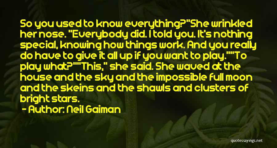 Things You Used To Do Quotes By Neil Gaiman