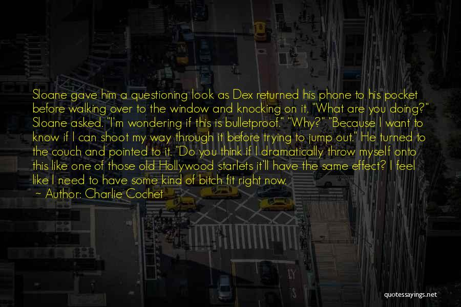 Think Before You Jump Quotes By Charlie Cochet