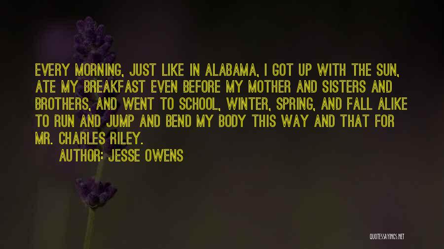 Think Before You Jump Quotes By Jesse Owens