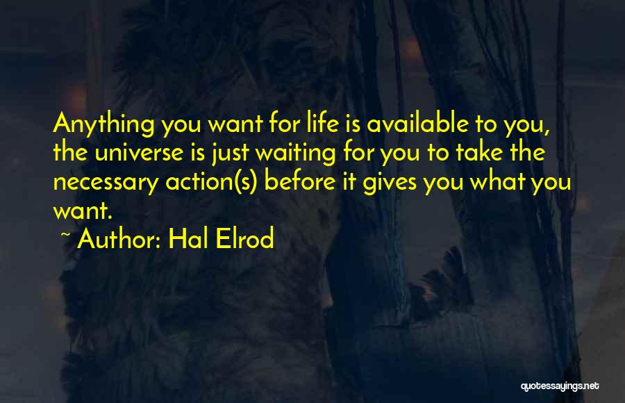 Think Before You Take Action Quotes By Hal Elrod