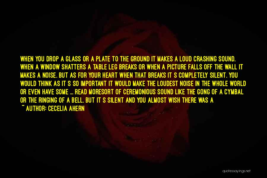 Think Big Picture Quotes By Cecelia Ahern