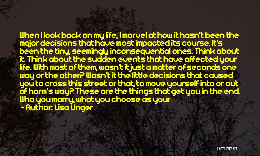 Think Big Picture Quotes By Lisa Unger