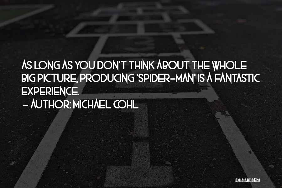 Think Big Picture Quotes By Michael Cohl