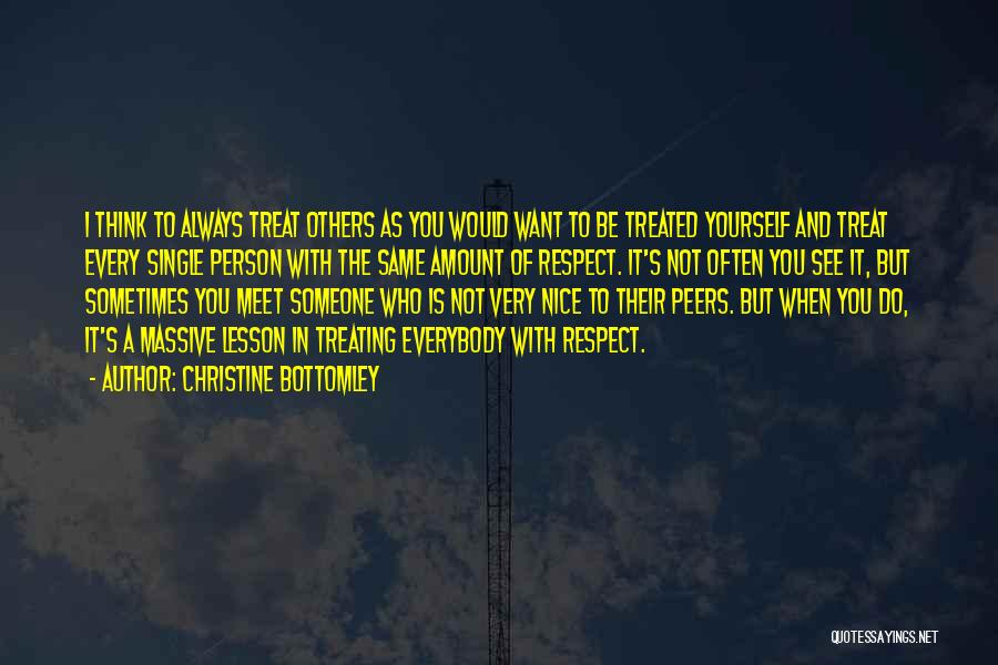 Think Of You Often Quotes By Christine Bottomley