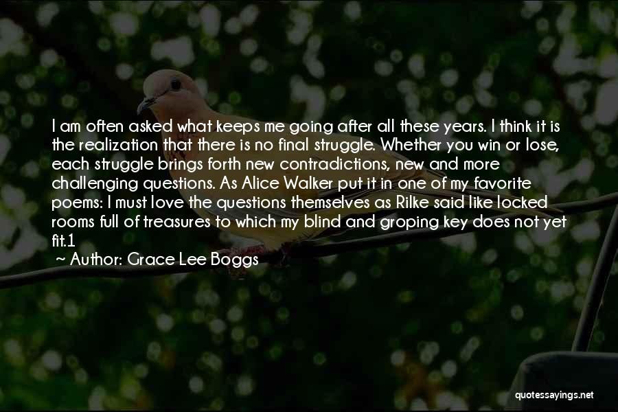 Think Of You Often Quotes By Grace Lee Boggs