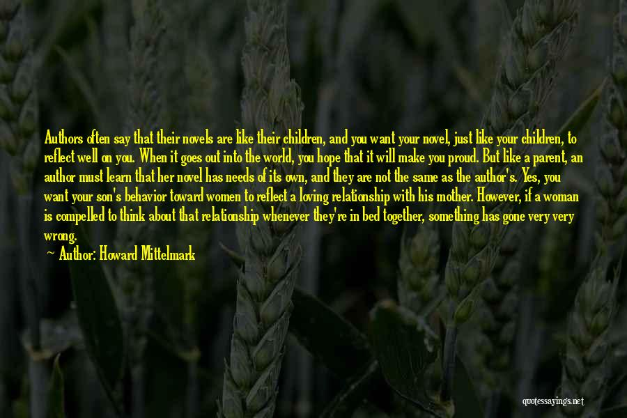 Think Of You Often Quotes By Howard Mittelmark