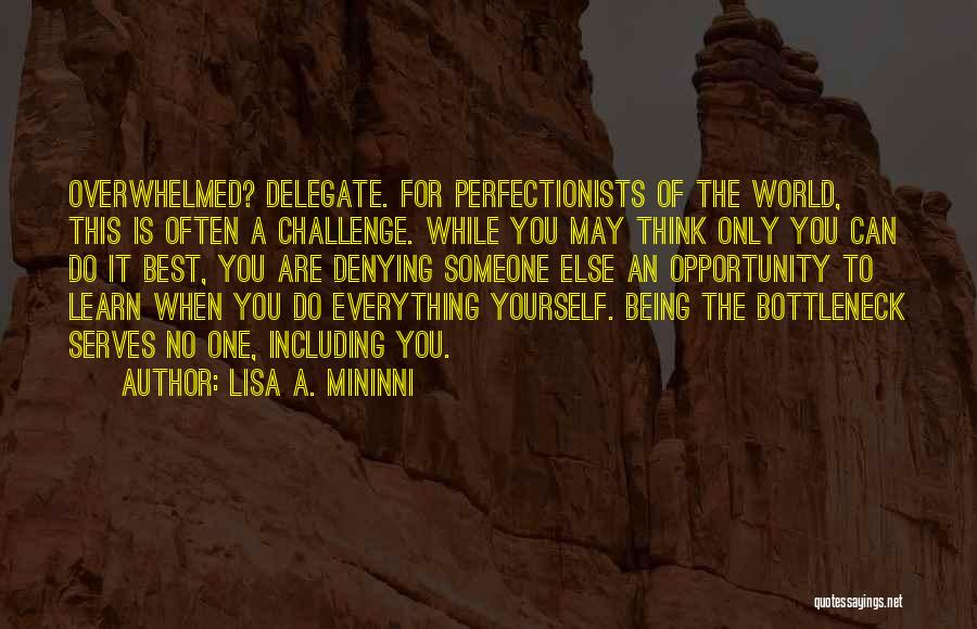 Think Of You Often Quotes By Lisa A. Mininni