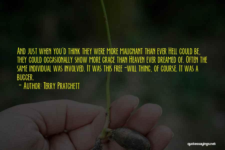Think Of You Often Quotes By Terry Pratchett