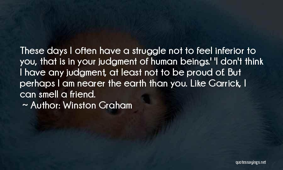 Think Of You Often Quotes By Winston Graham