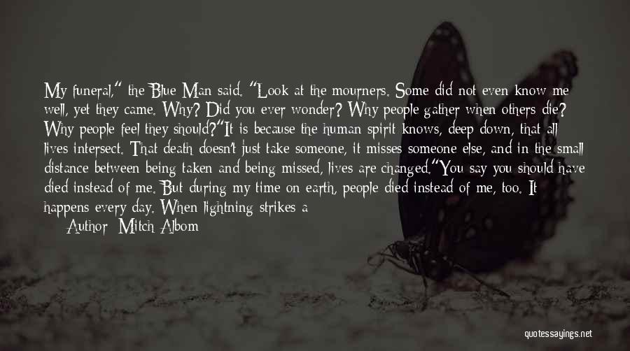 Think You Know Someone Quotes By Mitch Albom