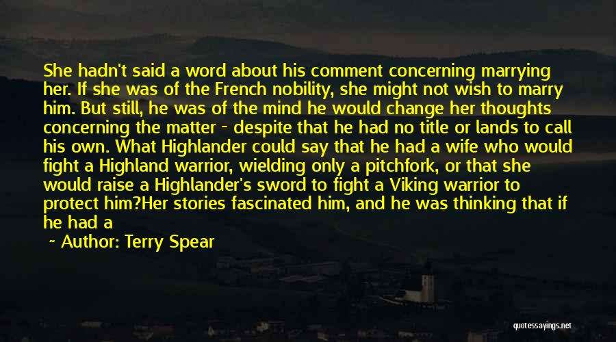 Thinking About Him Quotes By Terry Spear