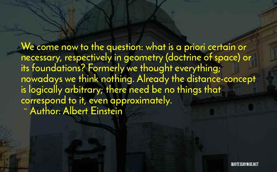 Thinking Logically Quotes By Albert Einstein