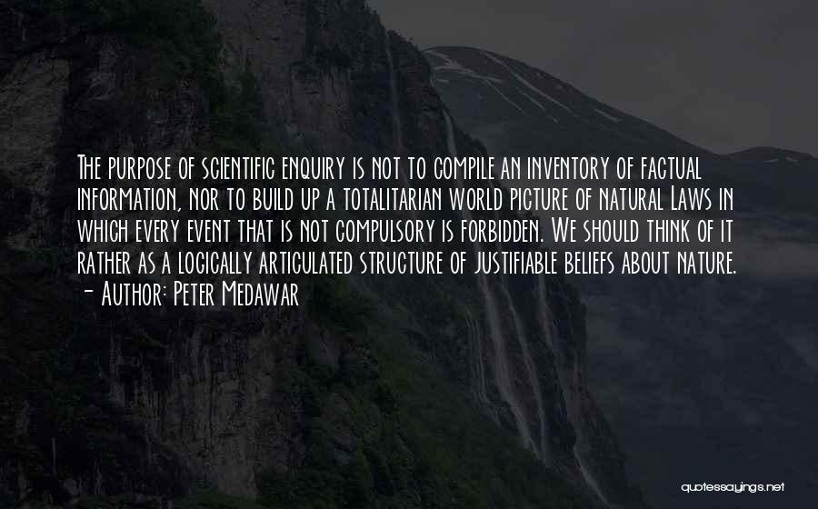 Thinking Logically Quotes By Peter Medawar