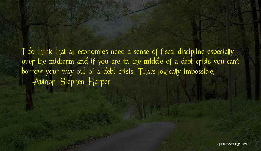 Thinking Logically Quotes By Stephen Harper