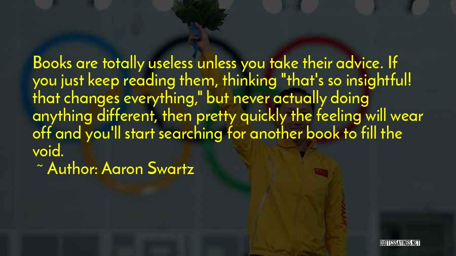 Thinking Quickly Quotes By Aaron Swartz