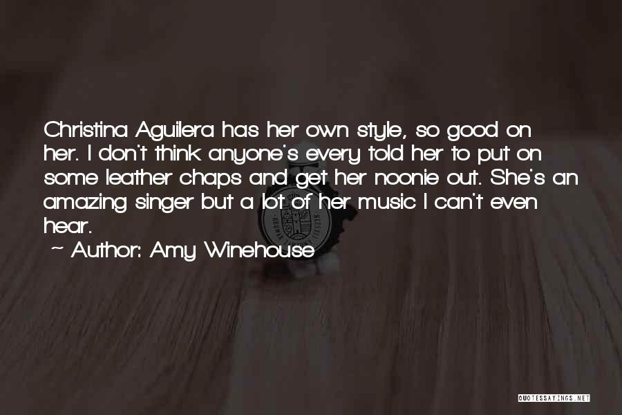 Thinking Someone Is Amazing Quotes By Amy Winehouse