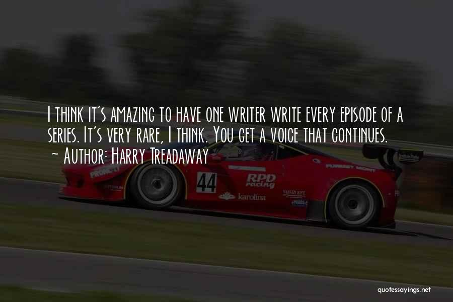 Thinking Someone Is Amazing Quotes By Harry Treadaway