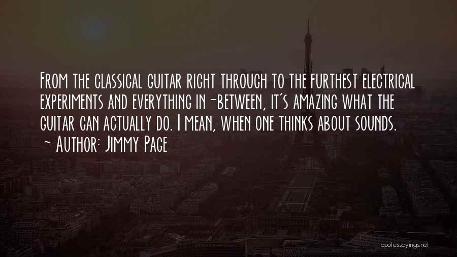 Thinking Someone Is Amazing Quotes By Jimmy Page