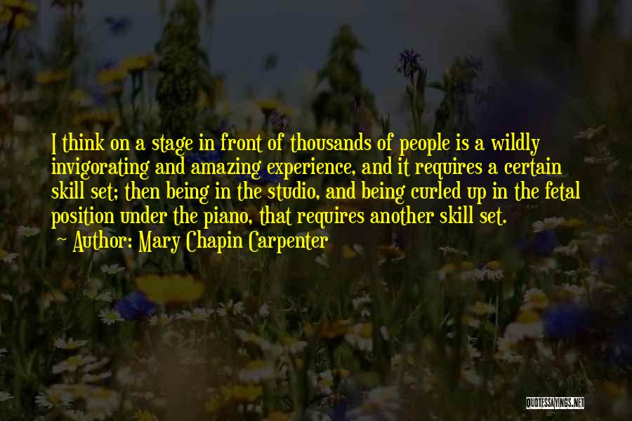Thinking Someone Is Amazing Quotes By Mary Chapin Carpenter