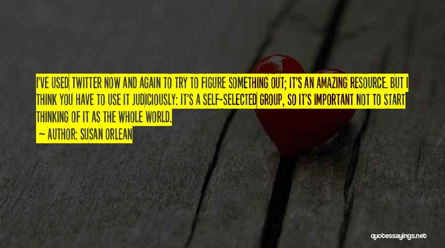 Thinking Someone Is Amazing Quotes By Susan Orlean