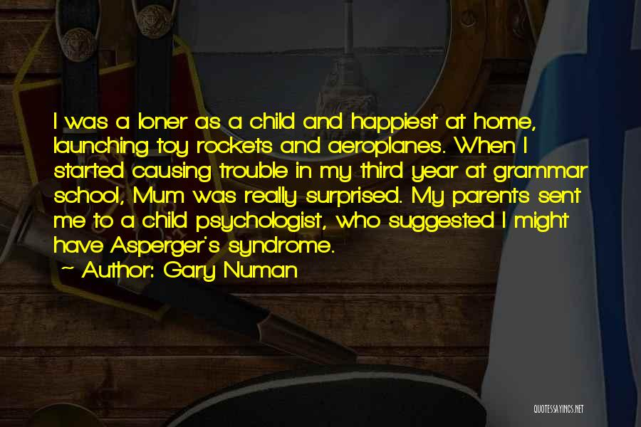 Third Child Quotes By Gary Numan