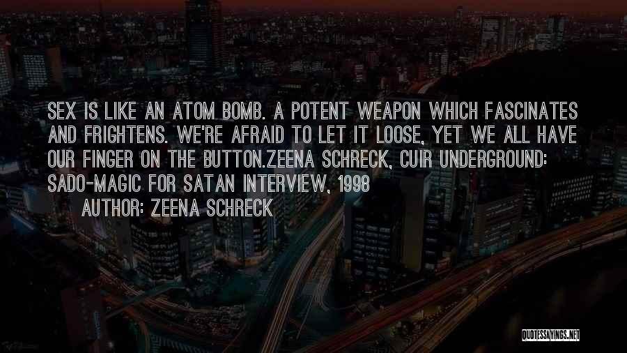 Third Finger Left Hand Quotes By Zeena Schreck