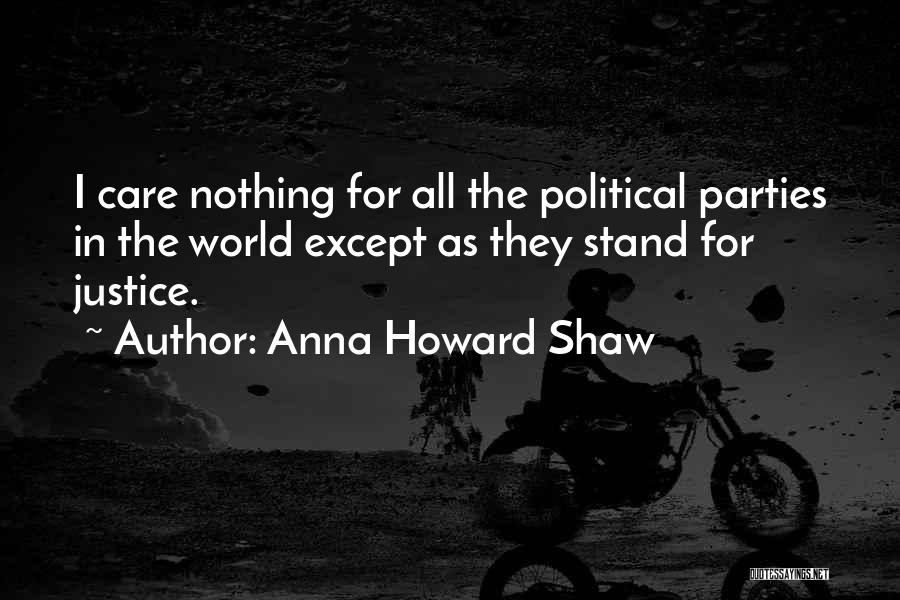 Third Party Marriage Quotes By Anna Howard Shaw