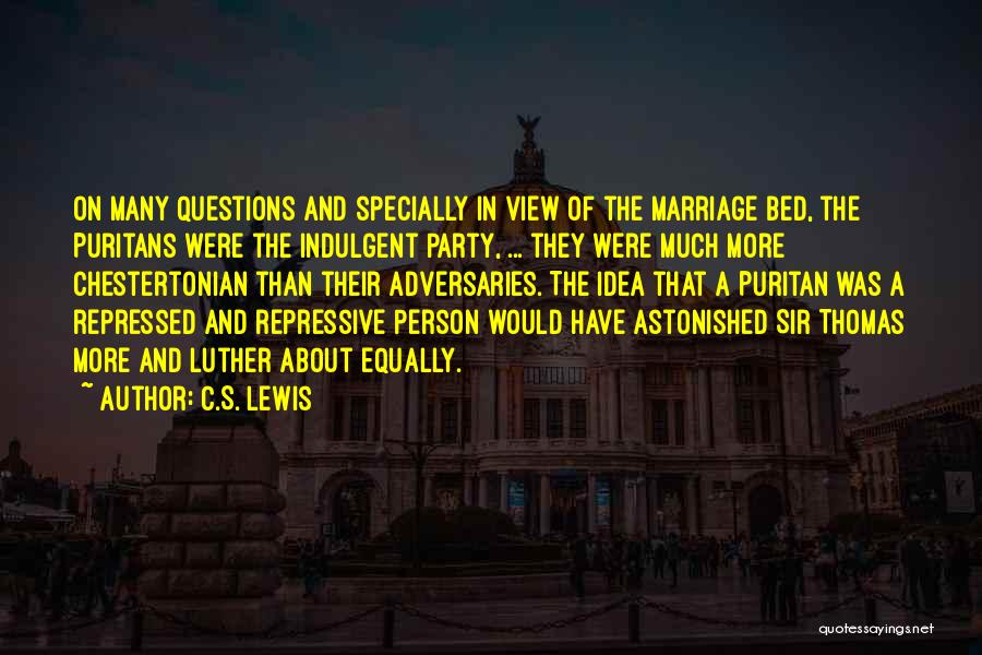 Third Party Marriage Quotes By C.S. Lewis