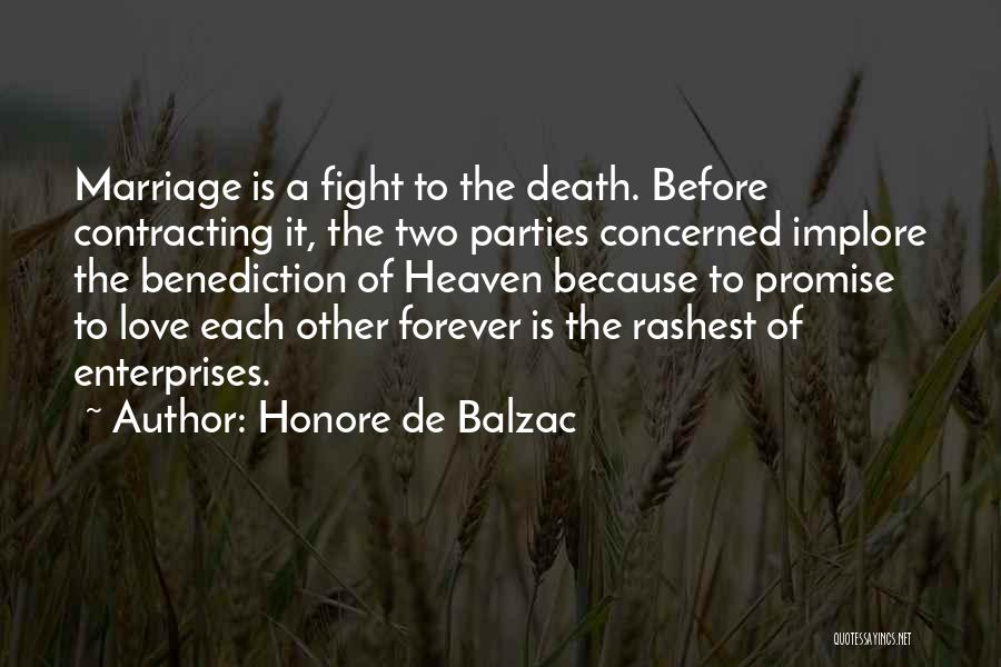 Third Party Marriage Quotes By Honore De Balzac
