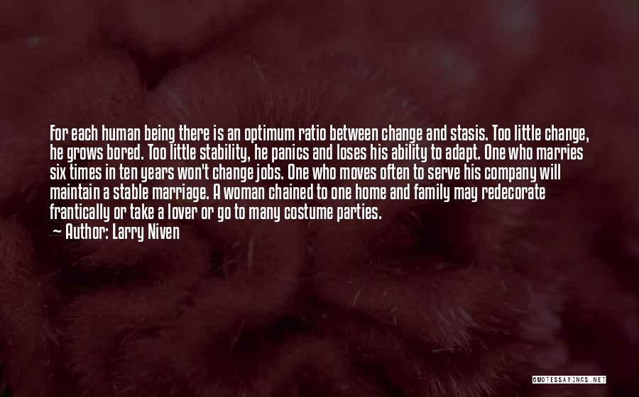 Third Party Marriage Quotes By Larry Niven