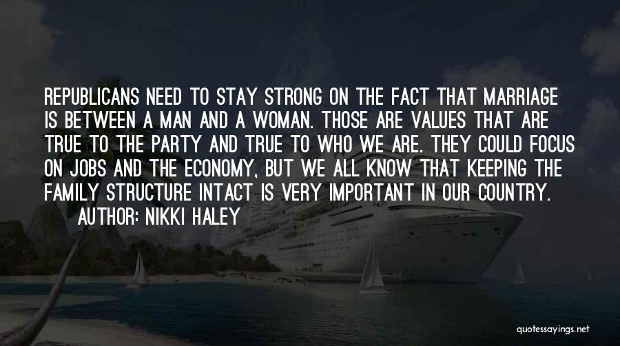 Third Party Marriage Quotes By Nikki Haley
