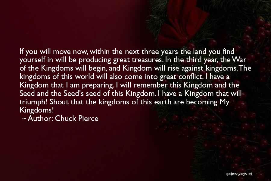 Third World War Quotes By Chuck Pierce