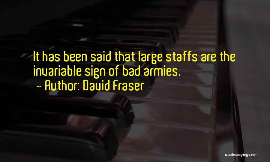 Third World War Quotes By David Fraser