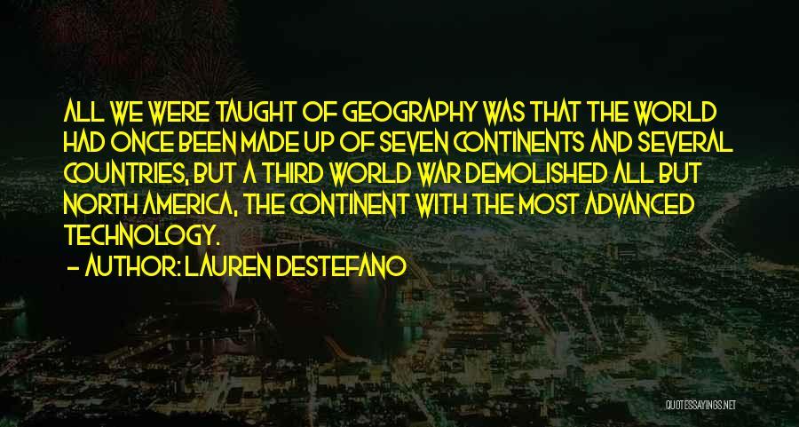 Third World War Quotes By Lauren DeStefano