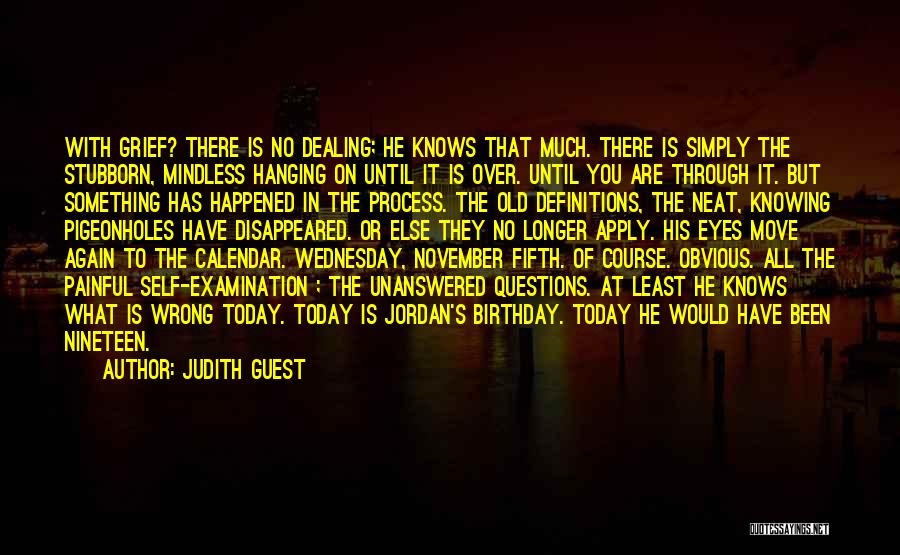 Thirty Fifth Birthday Quotes By Judith Guest