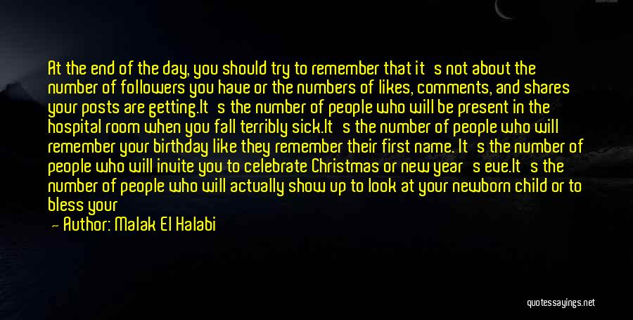 Thirty First Birthday Quotes By Malak El Halabi