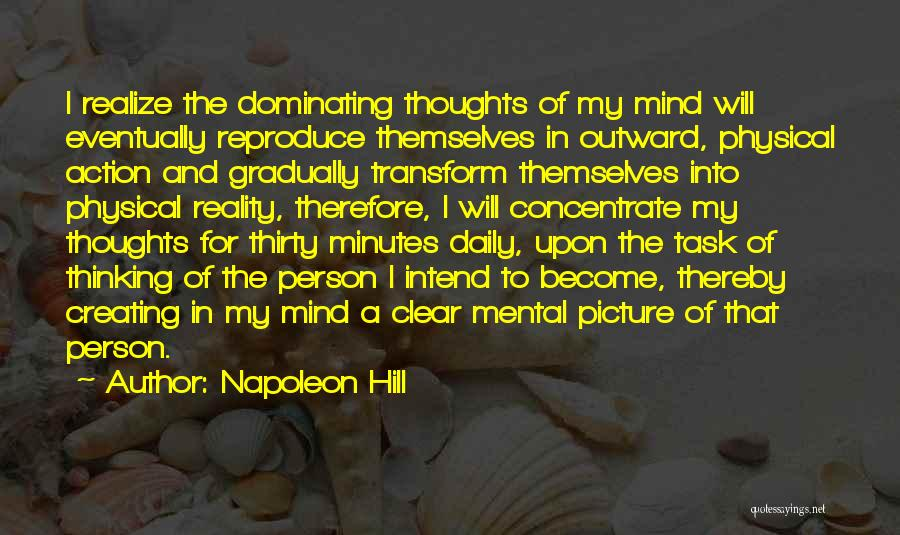 Thirty Minutes Quotes By Napoleon Hill