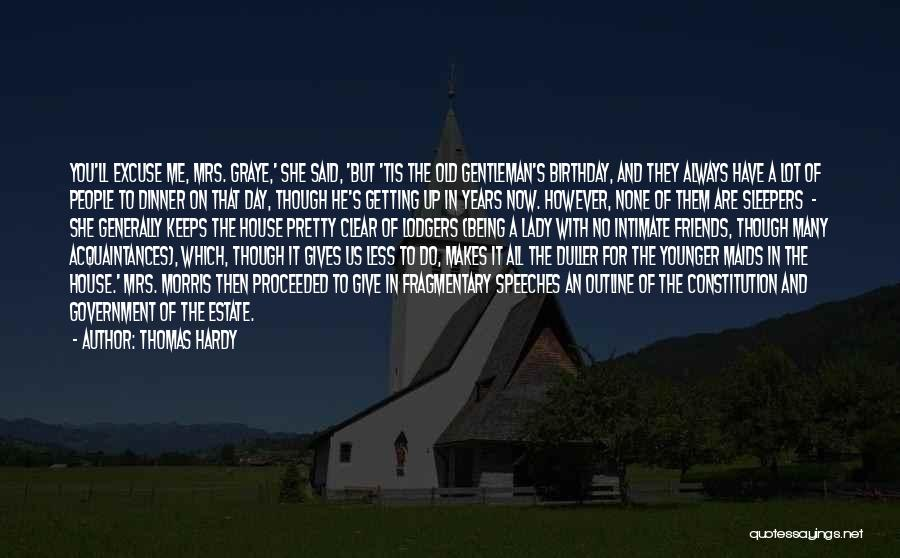 Thirty Years Old Birthday Quotes By Thomas Hardy