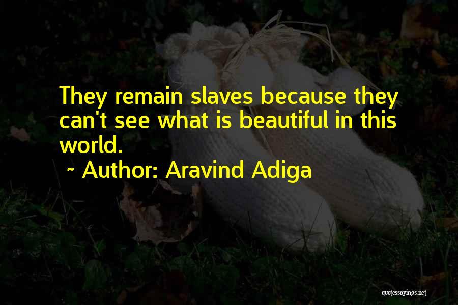 This Beautiful World Quotes By Aravind Adiga