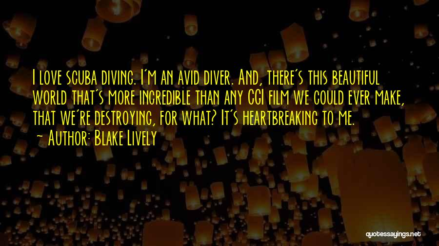This Beautiful World Quotes By Blake Lively