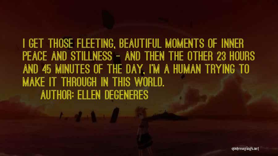 This Beautiful World Quotes By Ellen DeGeneres